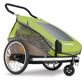 Croozer Habillage pluie - pour Kid Plus for 2 et Kid for 2 transparent